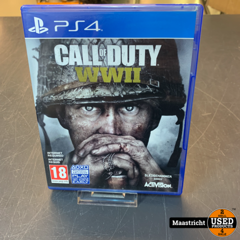 PS4 Game - Call of Duty World War 2 , Elders voor 18.99 Euro
