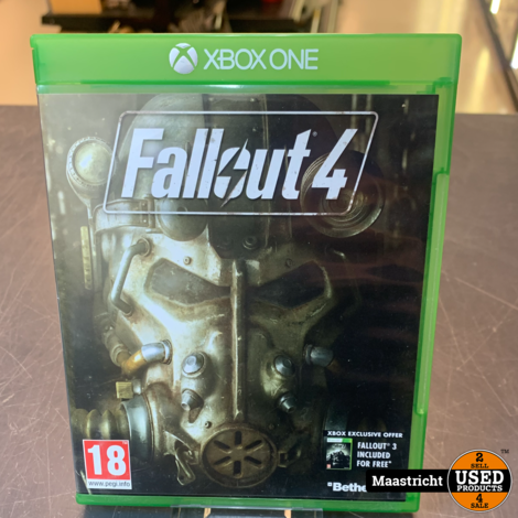 XBOX One Game - Fallout 4 , Elders voor 9.99 Euro