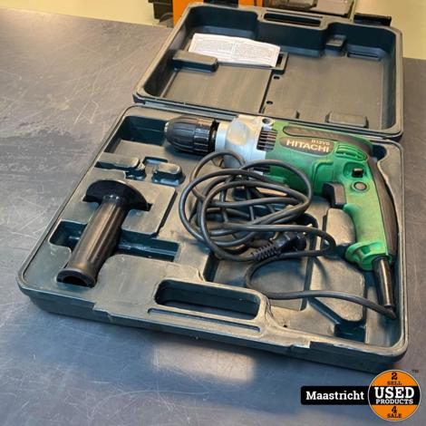 Hitachi D13VG Boormachine + Koffer