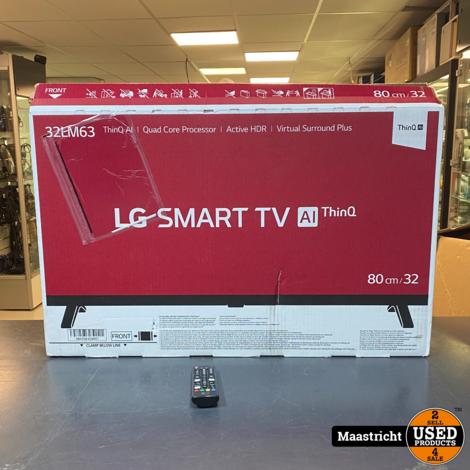 LG 32LM6370PLA 32 Inch SMART Televisie - Nwpr. 279,- Euro