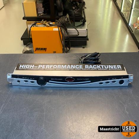 Behringer BTR2000 High Performance Rack Tuner