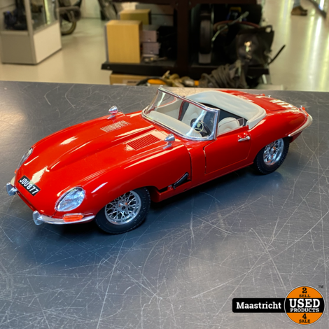 Jaguar E-type Modelauto 1:18 zonder doos