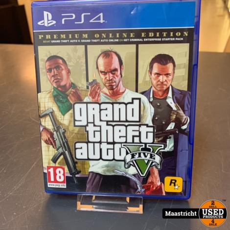 PS4 Game - GTA V Premium onl. Edition , Elders voor 29.99 Euro