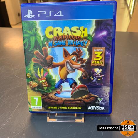 PS4 Game - Crash Bandicoot Insane Trilogy , Elders voor 24.99 Euro