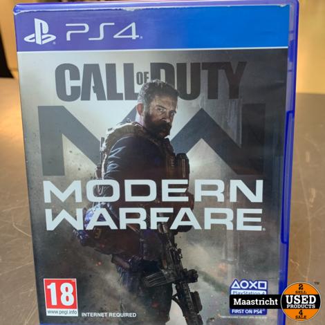 PS4 Game - Call of Duty Modern warfare , Elders voor 54.99 Euro
