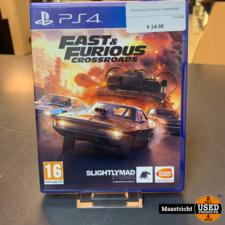 PS4 Game - Fast & Furious Crossroads , Elders voor 14.99 Euro