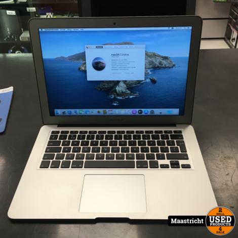 Apple Macbook Air (13 inch, 2017) Intel i5-1,8 GHz, 8 / 128 GB in prima staat