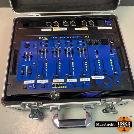 DAP M7 mixer in koffer