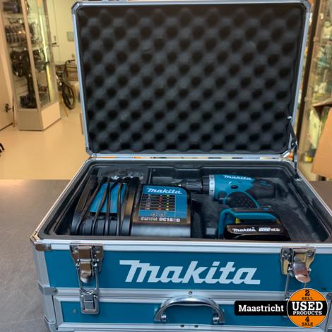 MAKITA DDF343 14.4V Boormachine compleet met doos