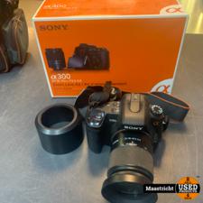 SONY DSLR-A300K Zoom lens Kit + Extra lenzen