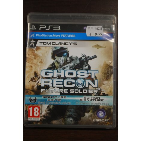 PS3 game Ghost Recon Future Soldier