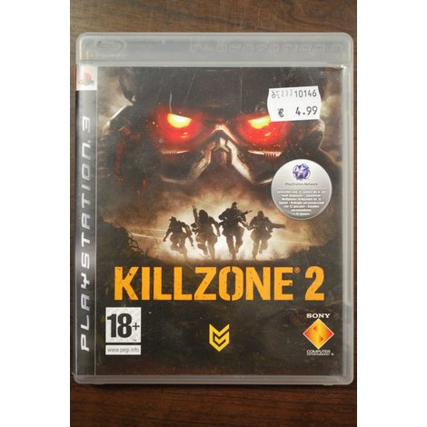 PS3 game Killzone 2 in nette conditie