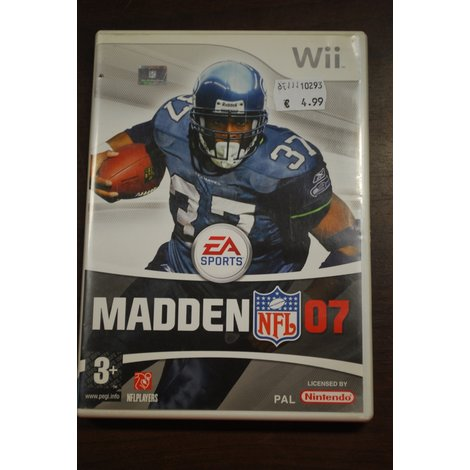 Nintendo Wii game Madden NFL 07