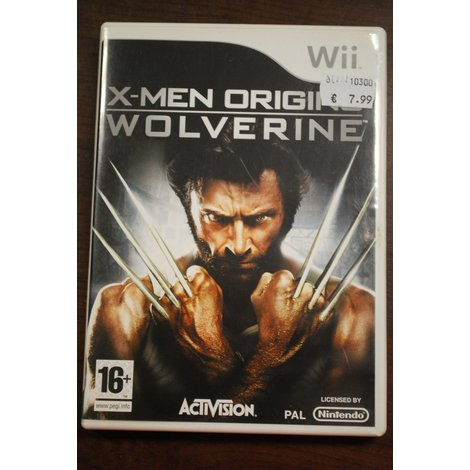 Nintendo Wii game X-Men Origins Wolverine