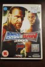 Nintendo Wii game Smackdown vs RAW 2009