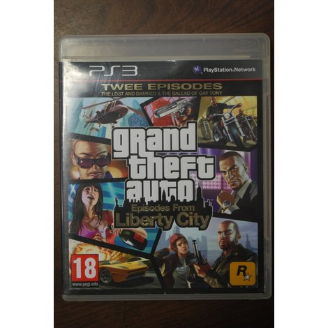 PS3 game GTA episodes from Liberty City