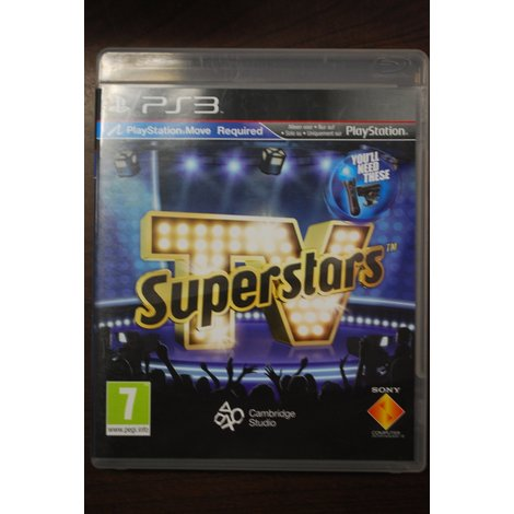 PS3 game TV superstars Playstation Move