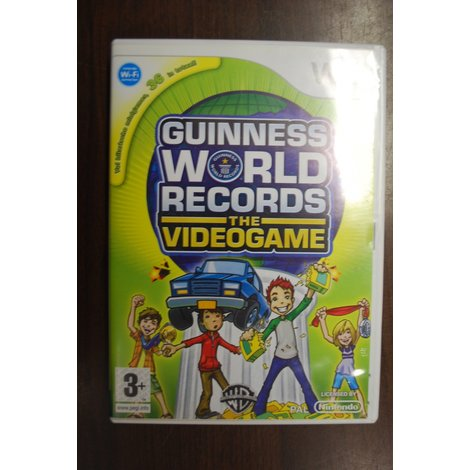 Wii game Guinness World Records The Videogame