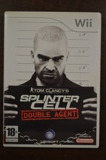 Nintendo Wii game Splinter Cell Double Agent