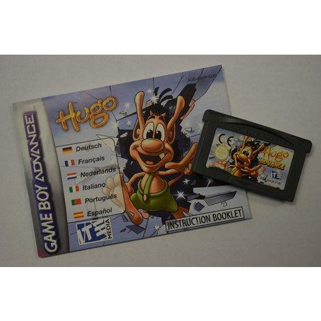 Gameboy Advance game Hugo Advance losse game incl. boekje
