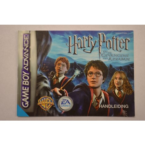 Gameboy Advance game Harry Potter Azkaban - losse game incl. boekje