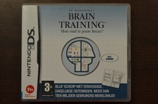 Nintendo DS game Braintraining