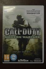 Nintendo Wii game Call of Duty Modern Warfare Reflex Edition