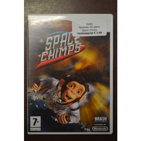 Nintendo Wii game Space Chimps