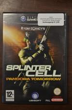 Gamecube game Splinter Cell Pandora Tomorrow incl. doosje & boekje