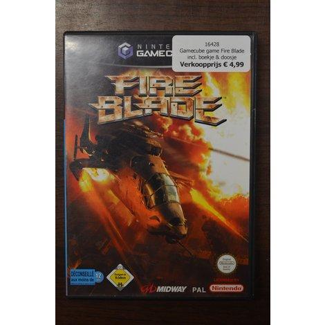 Gamecube game Fire Blade incl. boekje en doosje