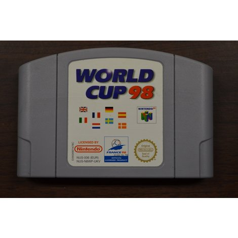 Nintendo 64 game World Cup 98