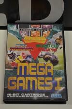 Sega Mega Drive game Mega Games 1 incl. doosje en 2 boekjes