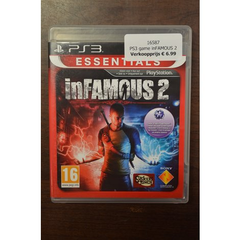 PS3 game inFAMOUS 2