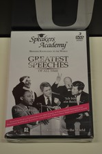 DVD Box Speakers Academy - Greatest Speeches Of All Time NIEUW IN SEAL