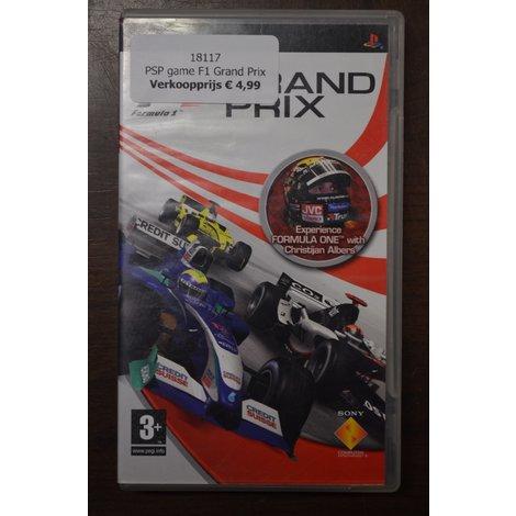 PSP game F1 Grand Prix
