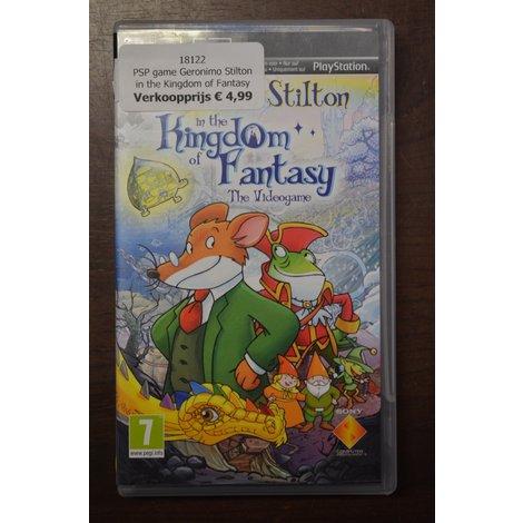 PSP game Geronimo Stilton in the Kingdom of Fantasy