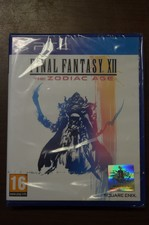 NIEUW IN SEAL: Playstation 4 game Final Fantasy XII The zodiac Age