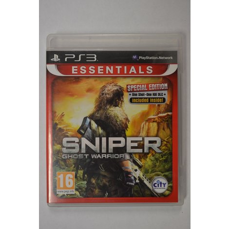 PS3 game Sniper Ghost Warrior