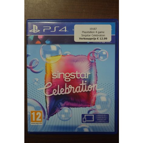 Playstation 4 game Singstar Celebration