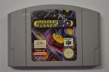 Nintendo 64 game Lode Runner 3D - losse game zonder boekje of doosje
