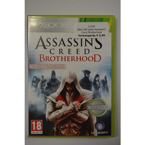 Xbox 360 game Assassin's Creed Brotherhood