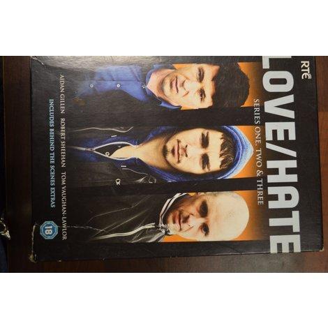 Dvd box Love hate 1 2 3   engels