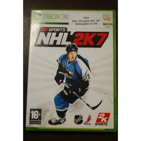 Xbox 360 game NHL 2K7