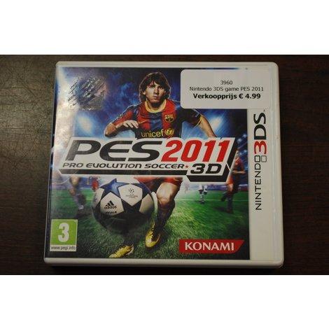Nintendo 3DS game PES 2011