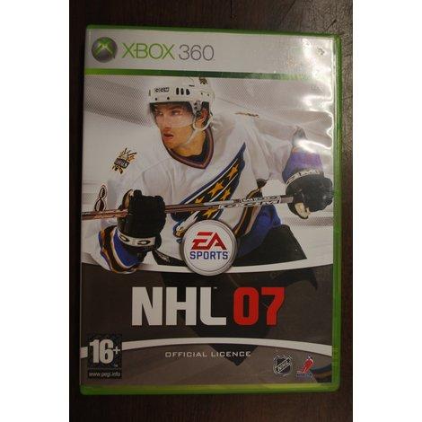 Xbox 360 game NHL 07