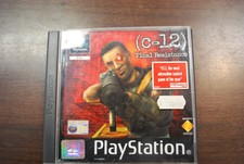 PS1 Game C-12 Final Resistance