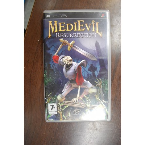 Psp game Medievil resurrection