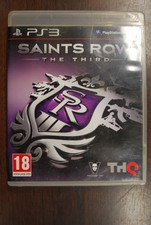 Ps3 game Sasints row The third