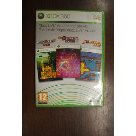 XBox 360 game Arcade spelpakket