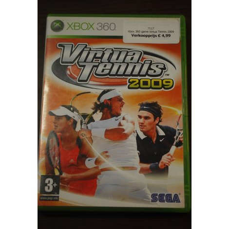 Xbox 360 game Virtua Tennis 2009